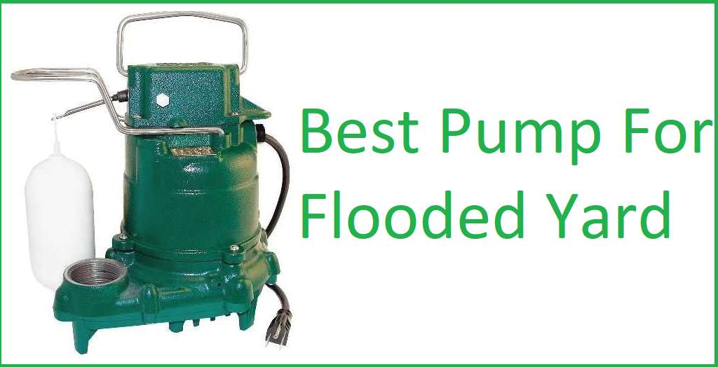 Best Pump For Flooded Yard